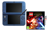 Nintendo Console New 3DS XL blauw + Lego Star Wars ENG