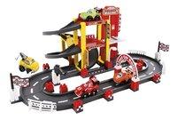 Abrick F1 circuit en garage-Vooraanzicht