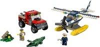 LEGO City 60070 De achtervolging met het watervliegtuig-Vooraanzicht