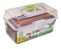 Carioca crayon de couleur Tita - 120 pièces