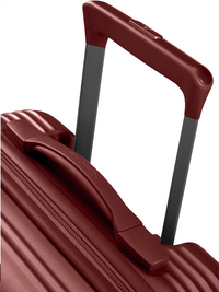 Samsonite harde reistrolley Rectrix Spinner Matte Red 55 cm-Bovenaanzicht