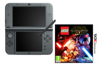Nintendo Console New 3DS XL zwart + Lego Star Wars FR