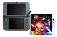 Nintendo Console New 3DS XL zwart + Lego Star Wars ENG