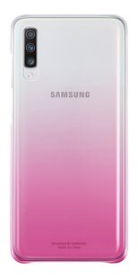 Samsung Gradation Cover voor Galaxy A70 roze-Achteraanzicht