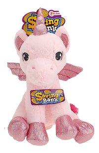 Spaarpot Unicorn roze-Vooraanzicht
