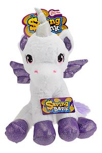 Spaarpot Unicorn paars-Vooraanzicht