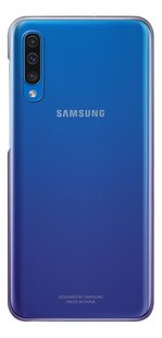 Samsung Gradation Cover voor Galaxy A50 paars-Achteraanzicht