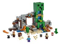 LEGO Minecraft 21155 De Creeper mijn-Vooraanzicht