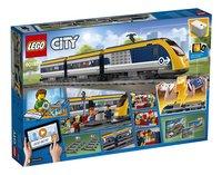 LEGO City 60197 Passagierstrein-Achteraanzicht