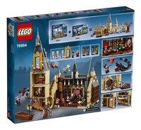 LEGO Harry Potter 75954 De Grote Zaal van Zweinstein-Achteraanzicht