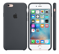 Apple silicone cover in voor iPhone 6s grijs