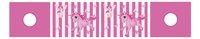 Rideau de jeu Pino licorne rose