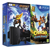 PS4 Console 1 To + Crash Bandicoot N-Sane Trilogy + Ratchet & Clank