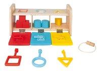 Janod trieur de formes La boîte à clefs-Avant