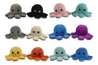 Octopus knuffel omkeerbaar Octomoody-Vooraanzicht