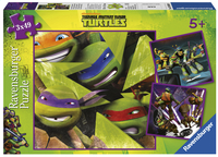 Ravensburger puzzel 3-in-1 Teenage Mutant Ninja Turtles