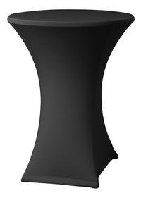 Papillon nappe pour table de cocktail Astro Stretch noir