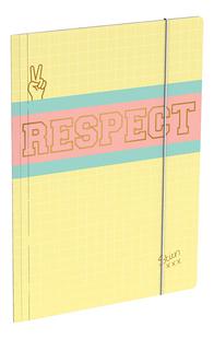 Stien Edlund elastomap A4 Respect-Linkerzijde