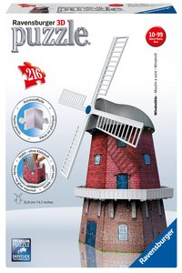 Ravensburger 3D-puzzel Windmolen
