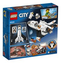 LEGO City 60226 Mars onderzoeksshuttle-Achteraanzicht