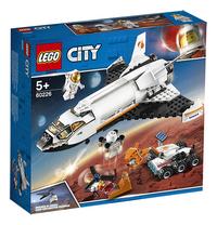 LEGO City 60226 Mars onderzoeksshuttle-Linkerzijde