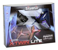 Silverlit avion RC X-Twin Lite bleu