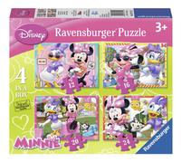 Ravensburger meegroeipuzzel 4-in-1 Minnie Mouse-Vooraanzicht