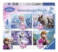 Ravensburger meegroeipuzzel 4-in-1 Disney Frozen