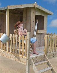 Dutchwood houten speelhuisje Checkpoint-Afbeelding 2