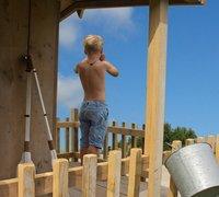 Dutchwood houten speelhuisje Checkpoint-Afbeelding 3