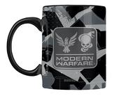 Mug Call of Duty Modern Warfare Metal Badge Coffee Mug-Arrière