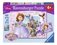 Ravensburger puzzle 2 en 1 Disney Princesse Sofia L'aventure de Sofia