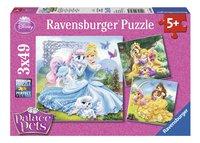Ravensburger Puzzel 3-in-1 Disney Princess Belle, Assepoester en Rapunzel