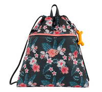 Stones and Bones sac de gymnastique Hazel 2.0 Flowers Navy-Avant