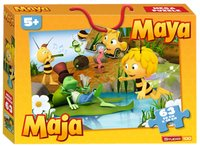 Megavloerpuzzel Maya de Bij