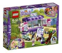 LEGO Friends 41332 Emma's kunstkraam-Linkerzijde