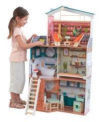 KidKraft maison de poupées en bois Marlow - H 112 cm-Image 1