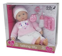 Dolls World zachte pop Talking Tilly-Rechterzijde