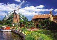 Ravensburger puzzel Schilderachtige windmolen-Vooraanzicht