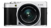 Fujifilm appareil photo Finepix X-A5 argenté objectif 15-45 mm-Avant