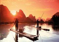 Ravensburger puzzle Pêche au coucher du soleil-Avant