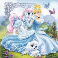 Ravensburger puzzle 3 en 1 Disney Princess Belle, Cendrillon et Raiponce-Détail de l'article