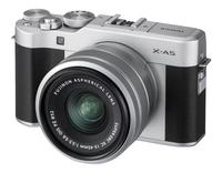 Fujifilm appareil photo Finepix X-A5 argenté objectif 15-45 mm-Côté droit