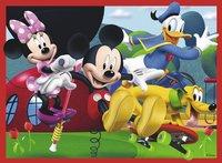 Ravensburger meegroeipuzzel 4-in-1 Mickey Mouse-Vooraanzicht