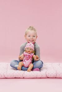 BABY born interactieve pop Soft touch Meisje roze 43 cm-Afbeelding 4
