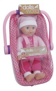 Dolls World poupée souple Isabella avec siège-auto-Côté gauche