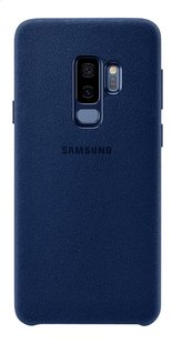 Samsung coque Alcantara Samsung Galaxy S9+ bleu-Arrière