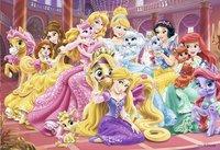 Ravensburger puzzle 2 en 1 Disney Princess Palace Pets-Avant