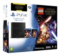 PS4 console 1 To noir + LEGO Star Wars FR/ANG + Blu-ray Star Wars: The Force Awakens