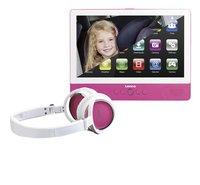 Lenco lecteur DVD portable tablette TDV-900 9' rose
